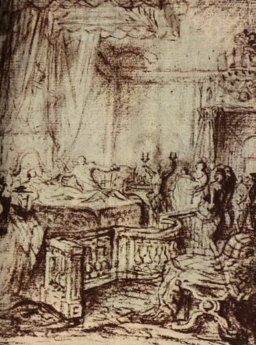 Рождение Марии Терезы Французской, 1778.